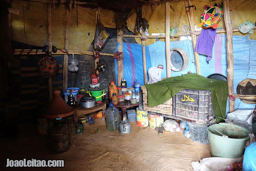 Nomad Kitchen in Erg Chebbi Dunes