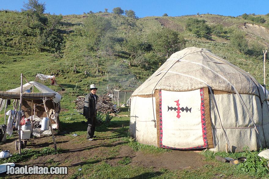 Nómadas Quirguizes