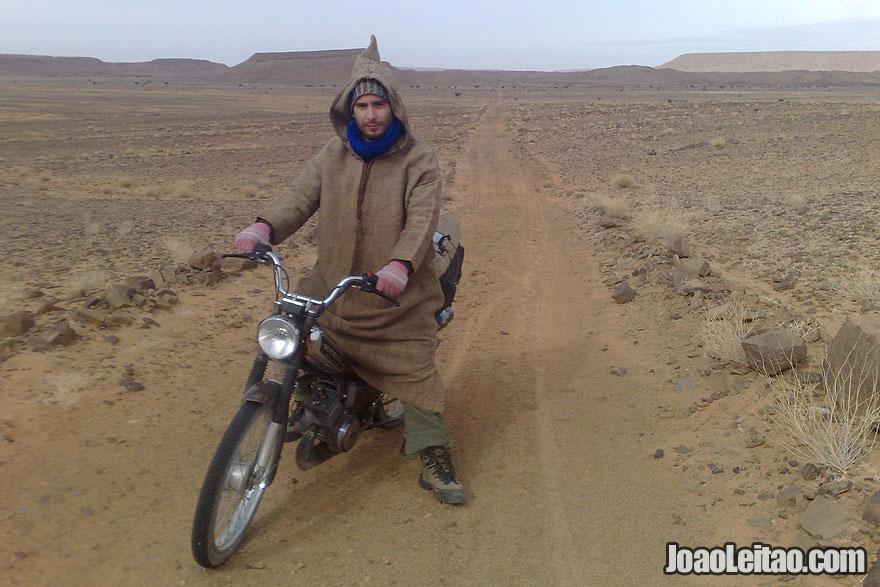 Motorcycle Diaries Sahara