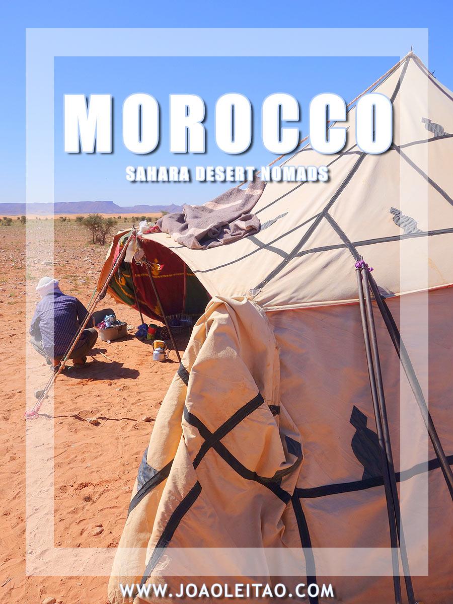 Nomads of Morocco - Sahara Desert nomadic life
