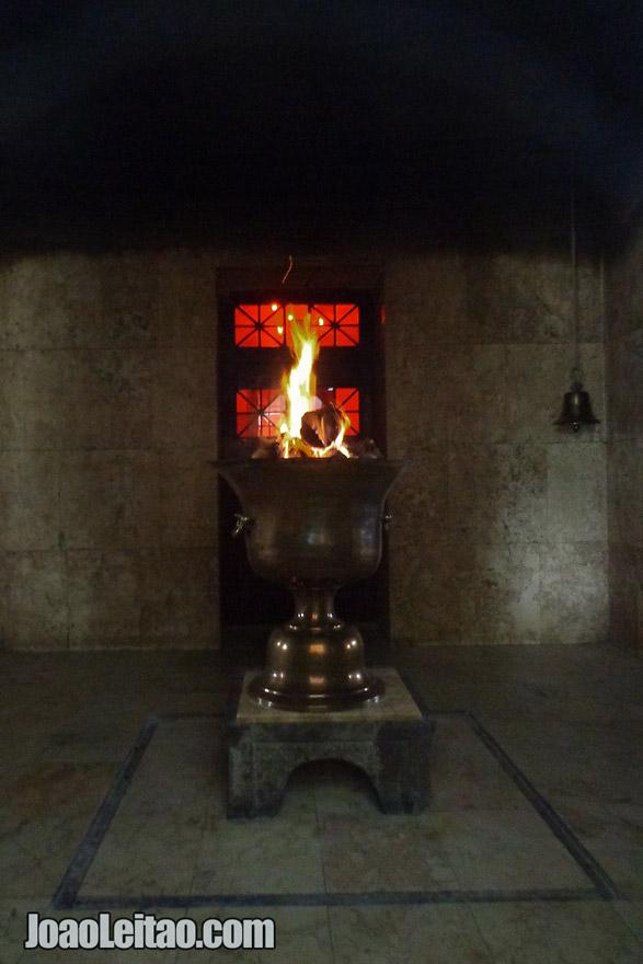 Ateshkadeh Zoroastrian Fire Temple in Yazd, Iran