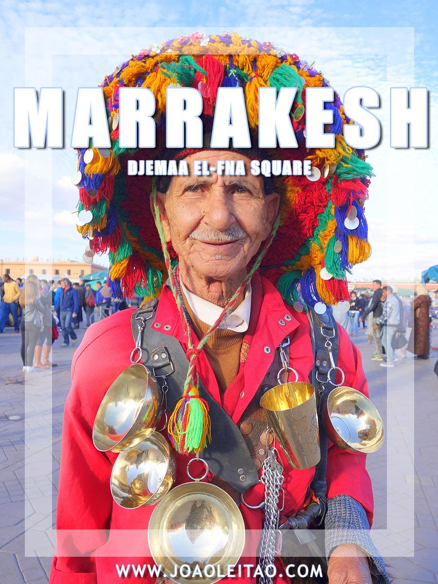 Djemaa El-Fna Marrakesh - Insanity Beyond Expectations