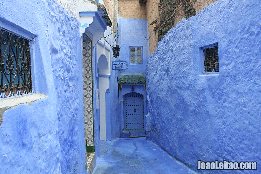 Alley in Chefchaouen
