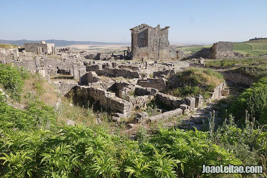 Dougga ancient Roman city in Tunisia