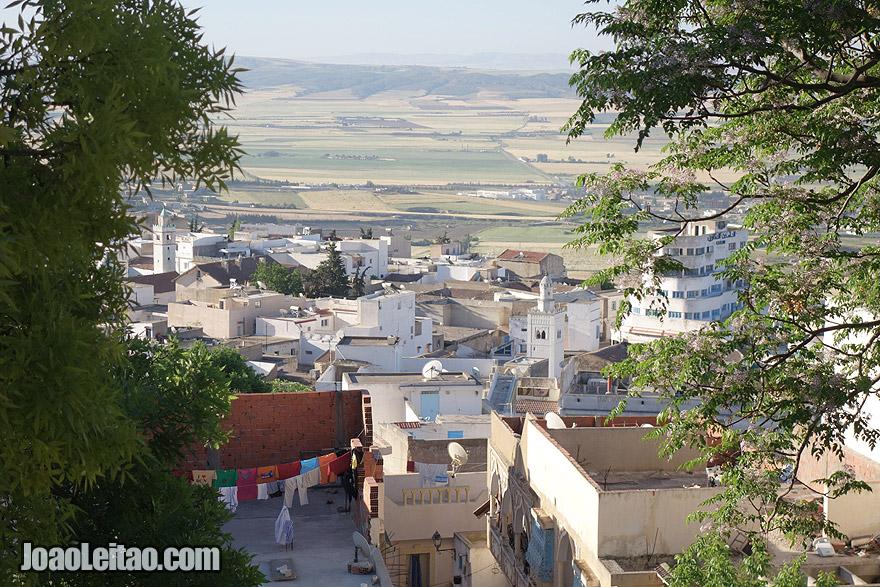 El-Kef city in Tunisia