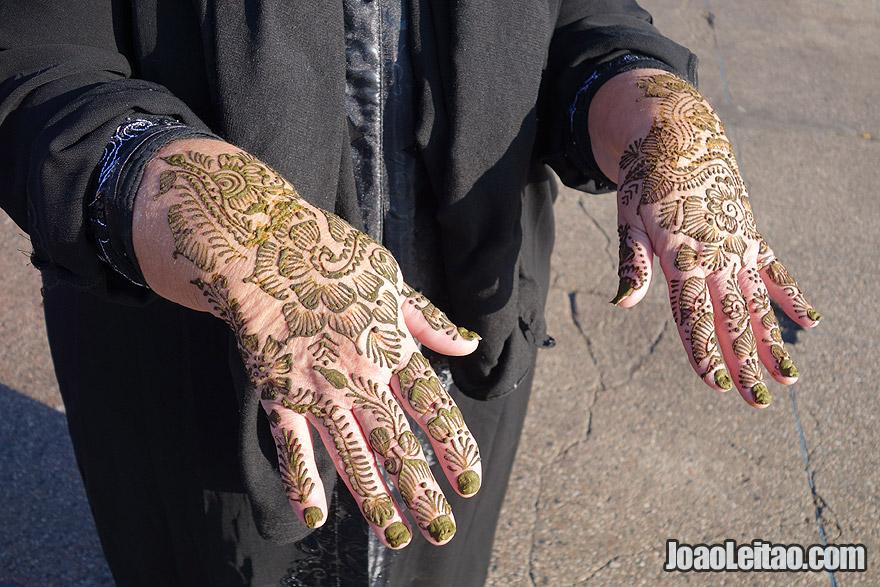 Henna Tattoo of Marrakesh