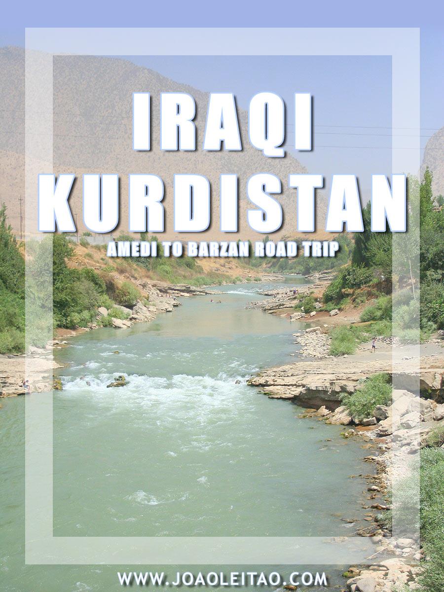 Driving in Iraq - Amedi to Barzan Road Trip