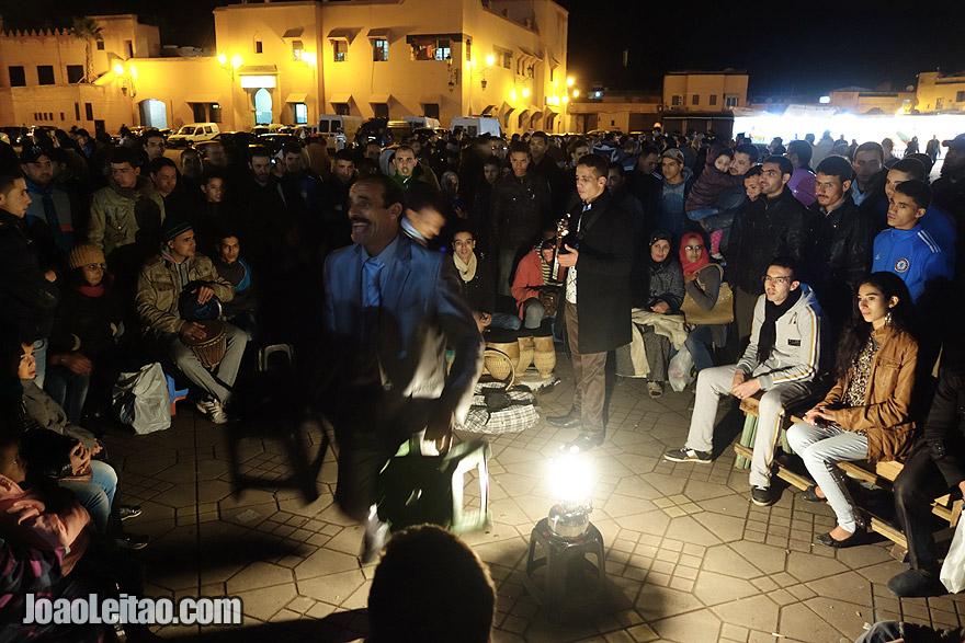 Jemaa el-Fna musicians in Marrakesh