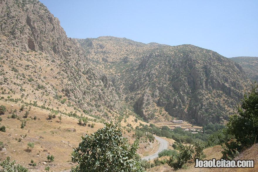 Iraqi Kurdistan mountains