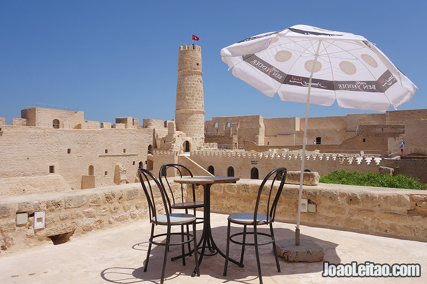 Monastir fortress in Tunisia