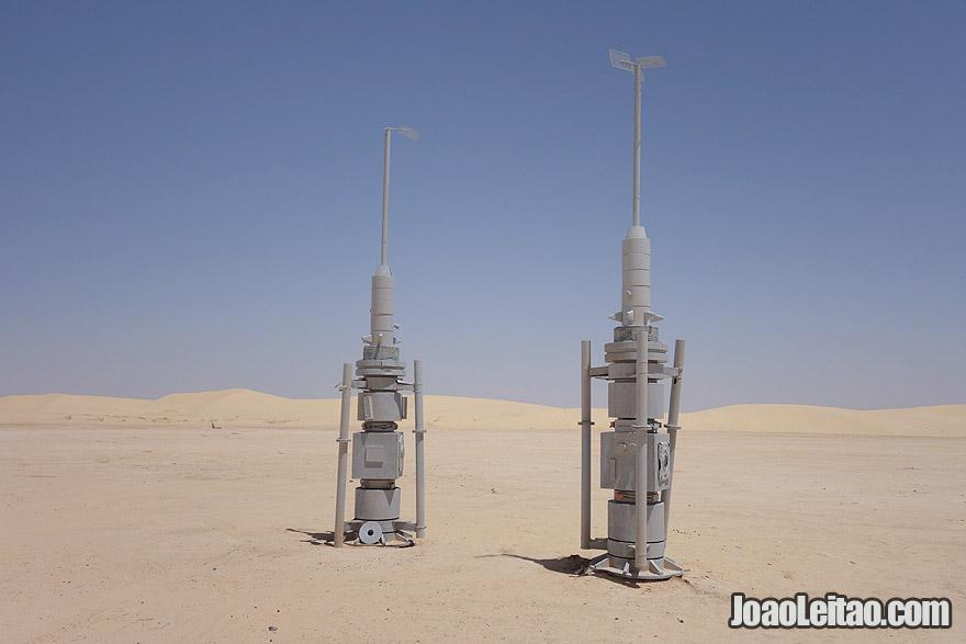 Mos Espa Star Wars movie set in Tunisia