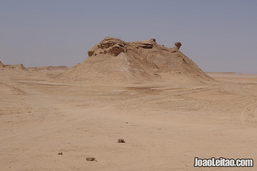 Ong Jmel mountain in Tunisia