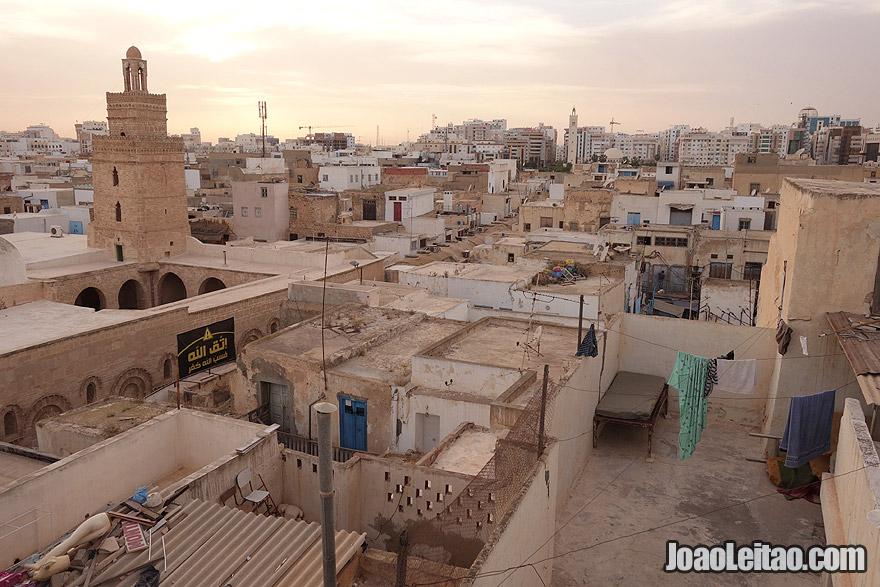 Sfax city in Tunisia