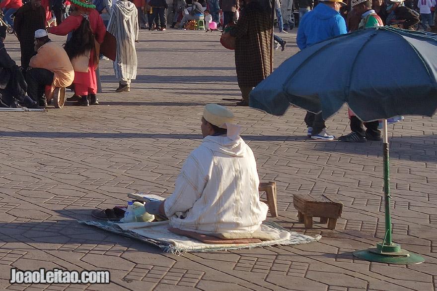 Story Teller of Marrakesh