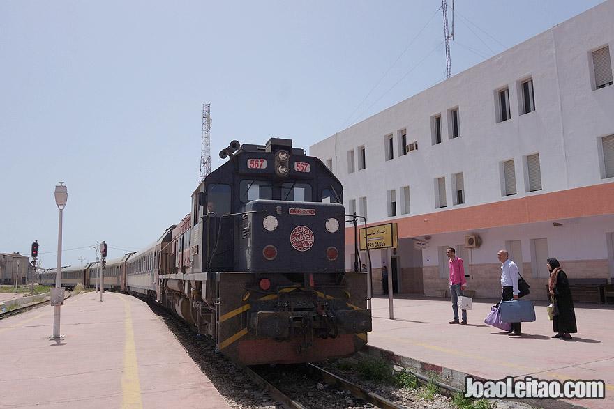 Train from Sfax to El Jem