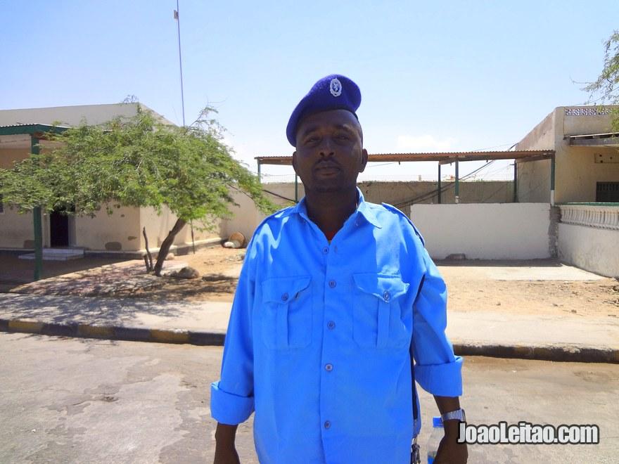 Port of Berbera security officer