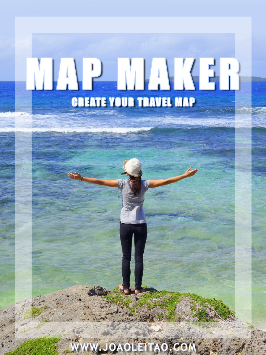 Visited Countries - Travel Map Maker