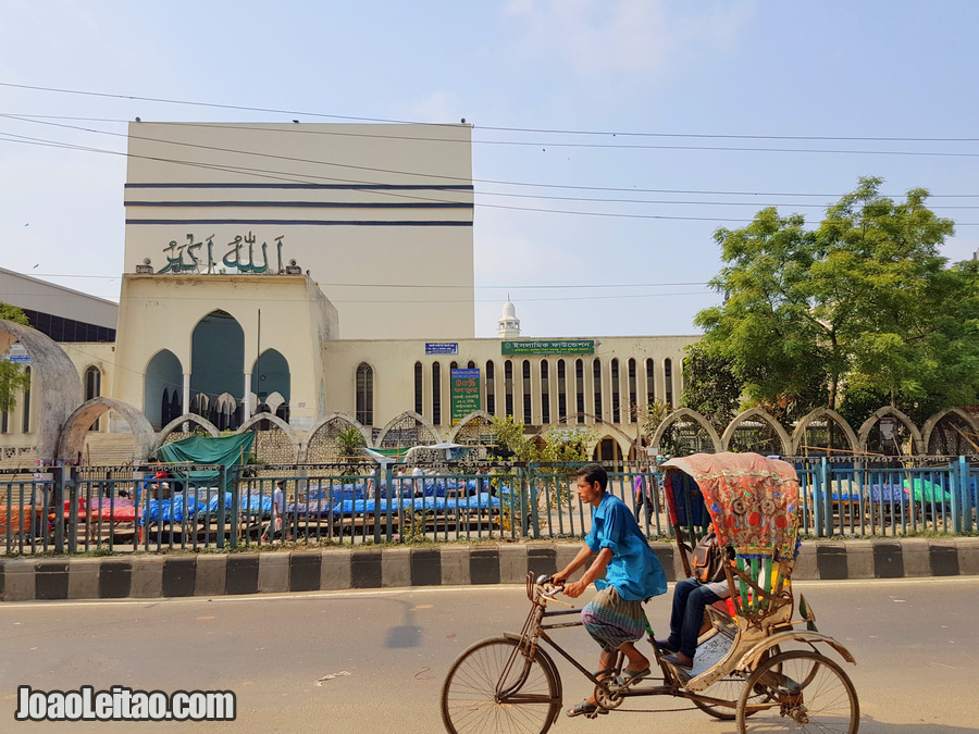 Baitul Mukarram Mosque in Dhaka