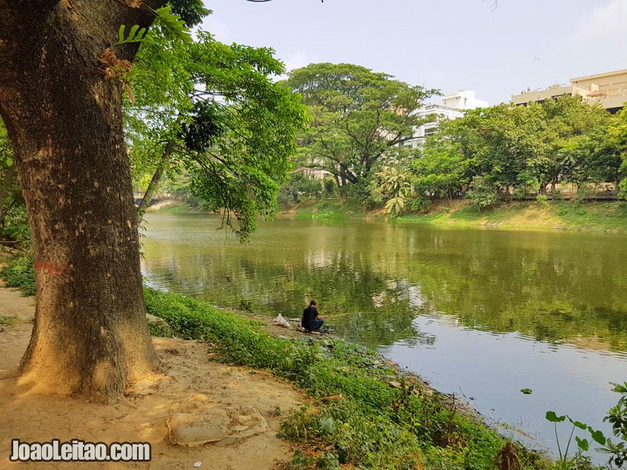 Dhanmondi Lake in Dhaka