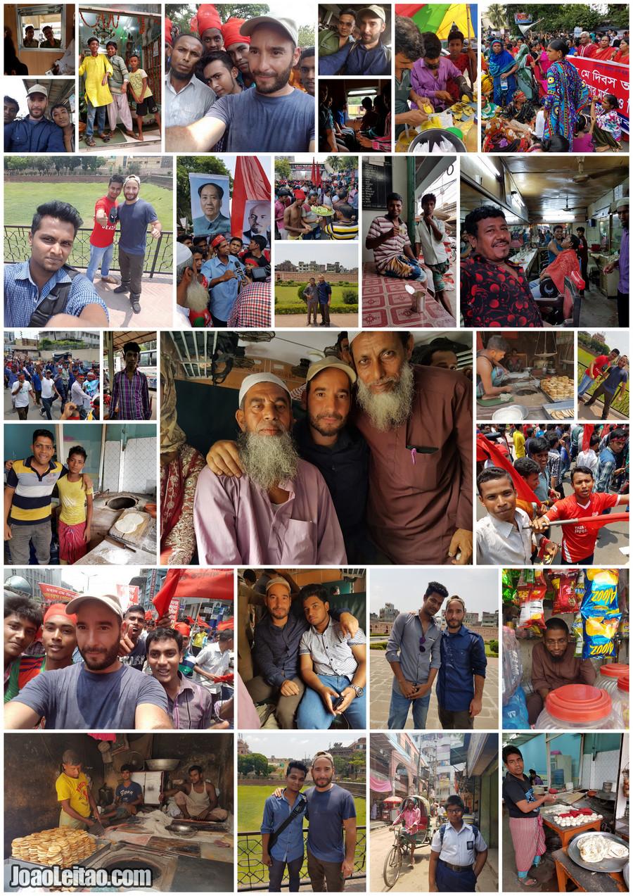 People in Dhaka the capital of Bangladesh