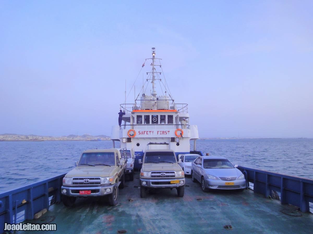 FERRY BOAT MASIRAH ISLAND OMAN