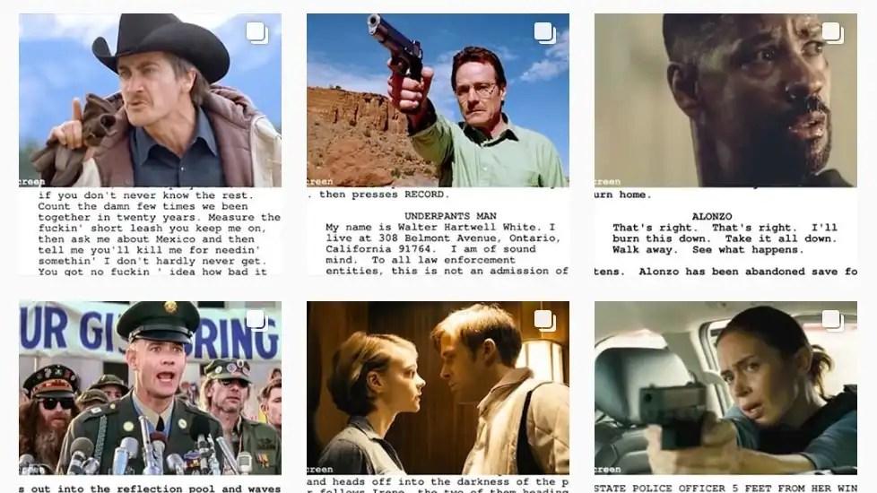 You are currently viewing Script.to.screen: do guião para a cena no Instagram