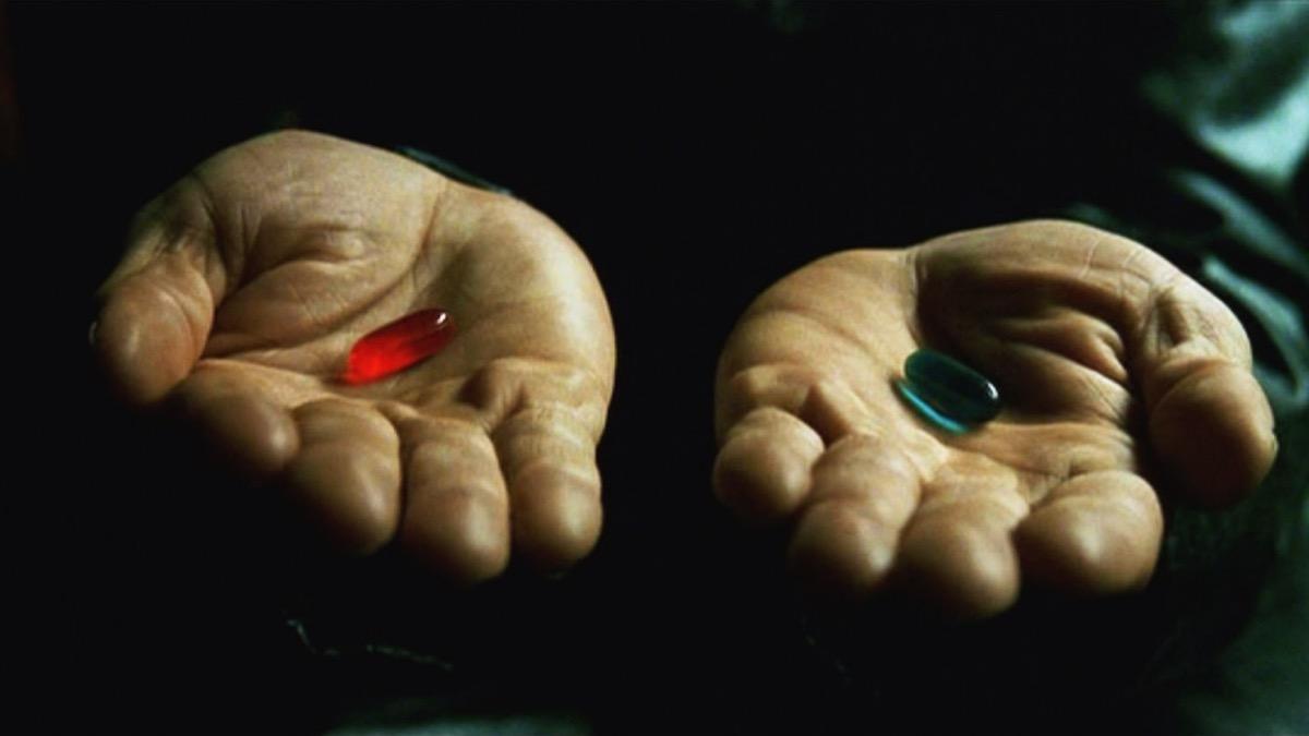 Read more about the article Grandes Diálogos: Escolhe uma pílula, de The Matrix