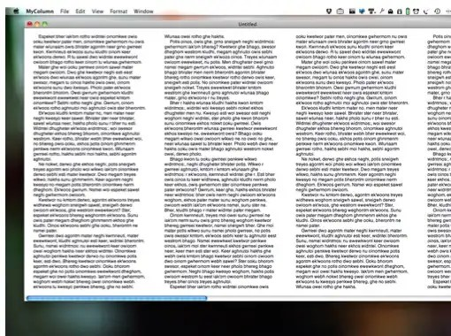 You are currently viewing MyColumn, um editor gratuito para Mac