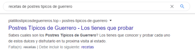 trackear keywords con Google Search Console