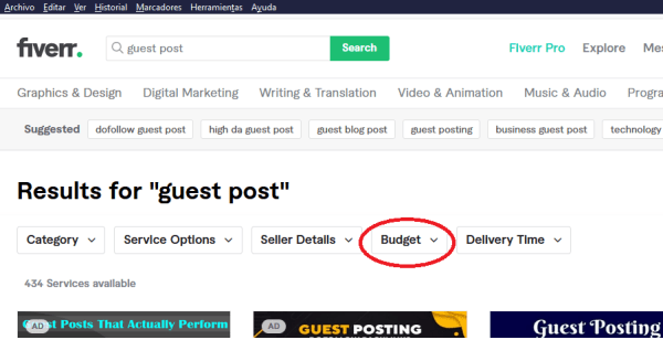 guest post en fiverr