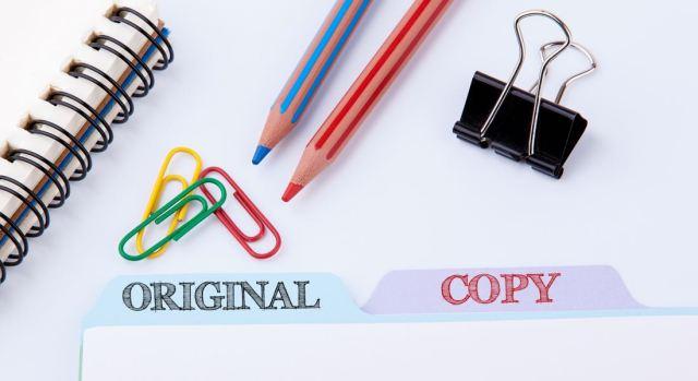 contenido dupicado vs contenido copiado