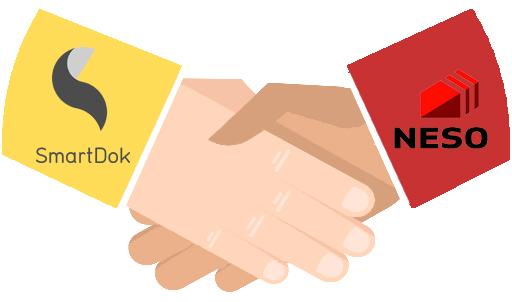 NESO og SmartDok skrev avtale.