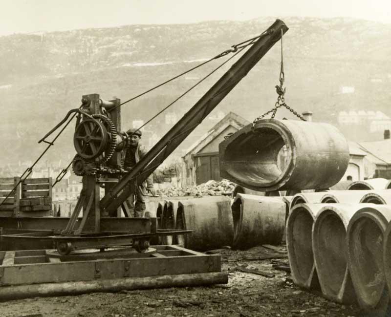 Bergen Bydrift wire maskiner