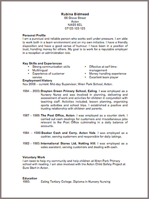 CV Templates | JobFox UK