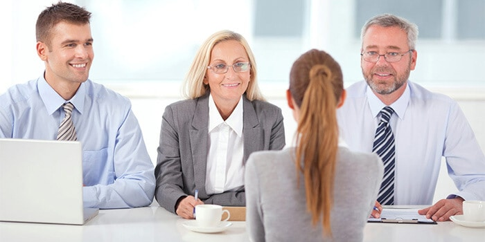 building a rapport with the interviewer