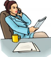 job interview on phone
