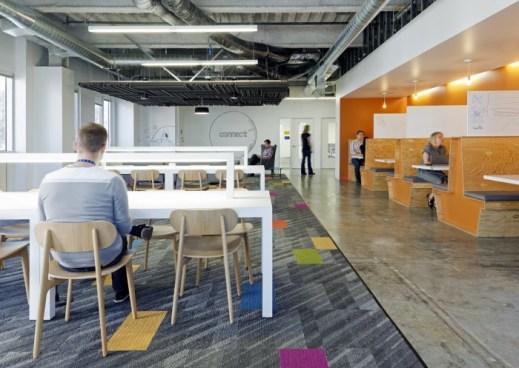 Salas oficinas de Facebook