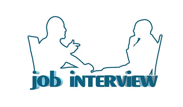 interviewer taking interview