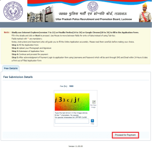 UP Police Computer Operator Online Application Form 9