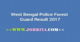west bengal police forest guard result