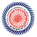 GGU Admission Exam Admit Card