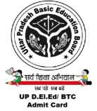 UP BTC Admit Card 2021 D.El.Ed 1st 2nd 3rd 4th Semester Back Exam Hall Ticket