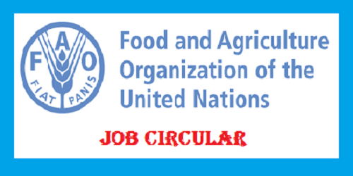 Food & Agriculture Organization of the United Nations Job Circular 2017