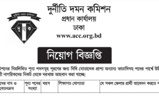 Anti Corruption Commission ACC Job Circular 2018