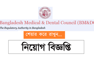 Bangladesh Medical and Dental Council Job Circular 2019