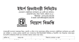 Eastern Refinery Limited ERL Job Circular