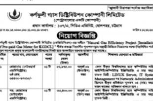 Karnaphuli Gas Distribution Job Circular 2018