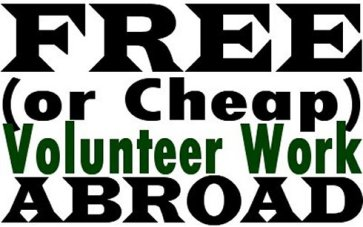 Free or Cheap Volunteer Work Abroad
