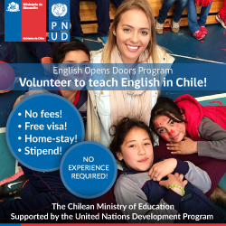 Volunteer to Teach English in Chile