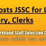 JSSC recruiting LDC Secretary Clerk – 3436 Posts
